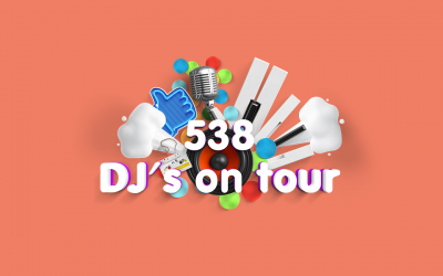 Foto's van 538 DJ's on Tour